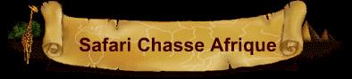 Safaru Chasse Afrique